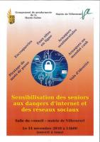 Sensibilisation des seniors aux dangers d'internet